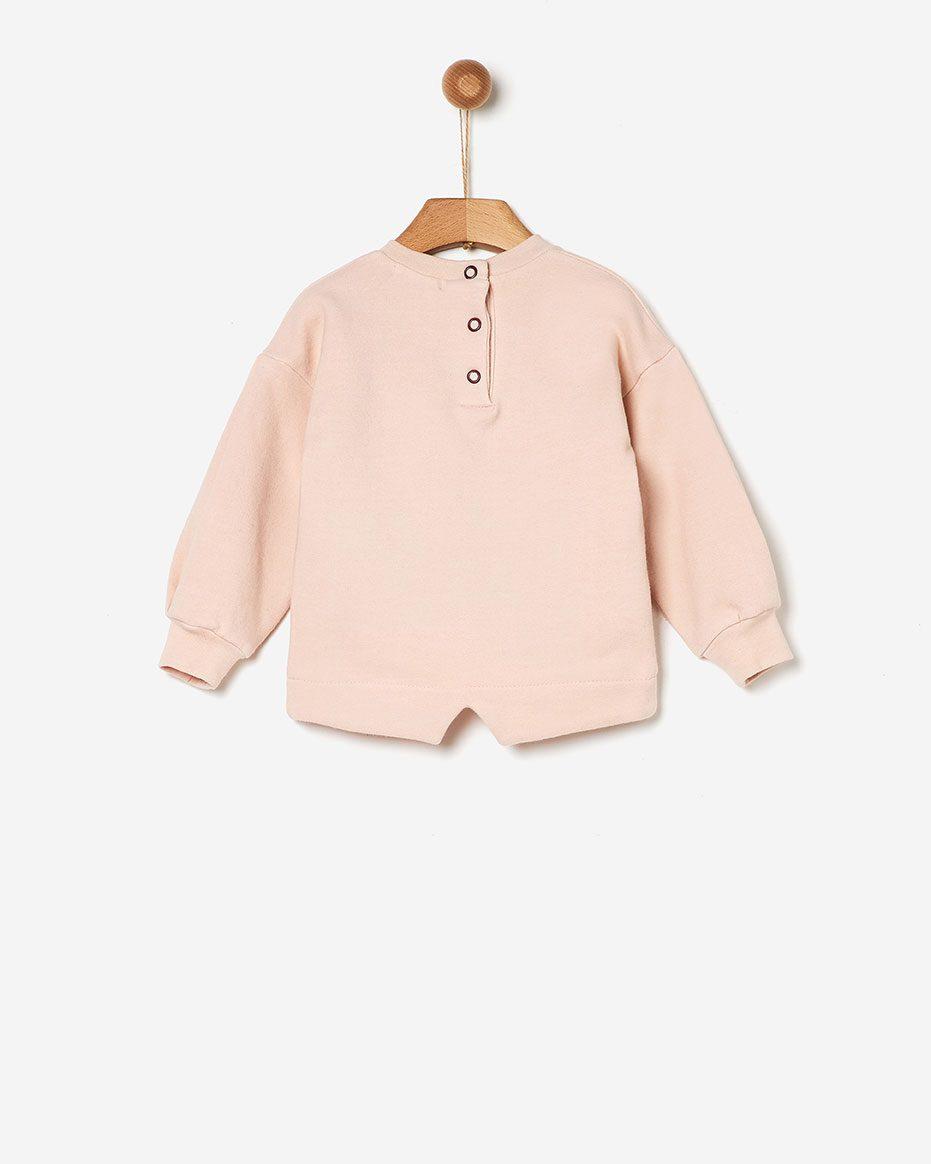Φούτερ Soft Pink  Yell-oh
