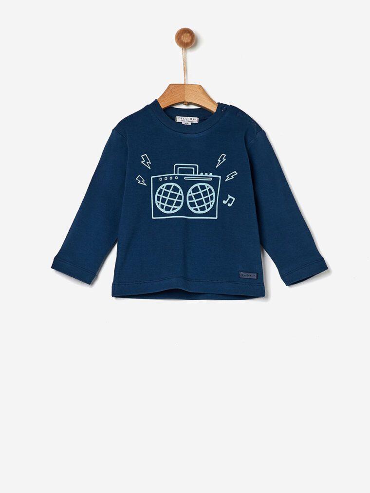 Μπλούζα Βαμβακερή dark blue Yell-oh