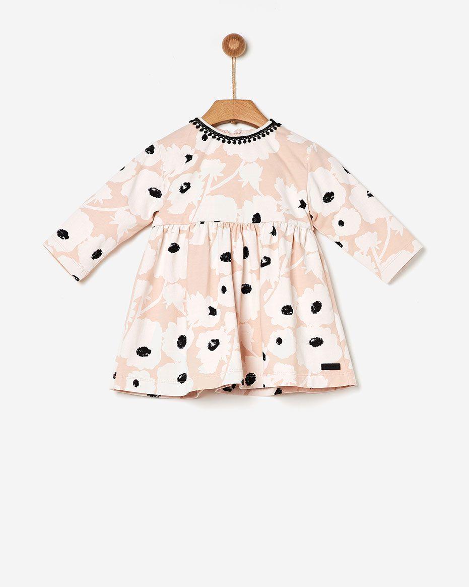 Φόρεμα flower Soft Pink  Yell-oh