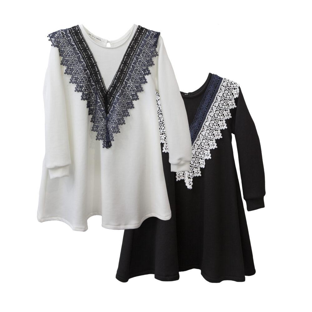 Φόρεμα Cotton με Δαντέλα Two in a castle