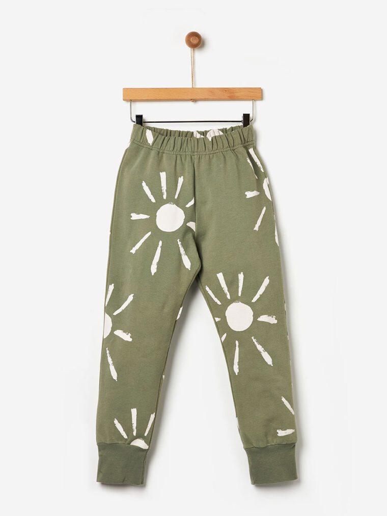Παντελόνι Φόρμα Allover Suns Khaki Yell-oh