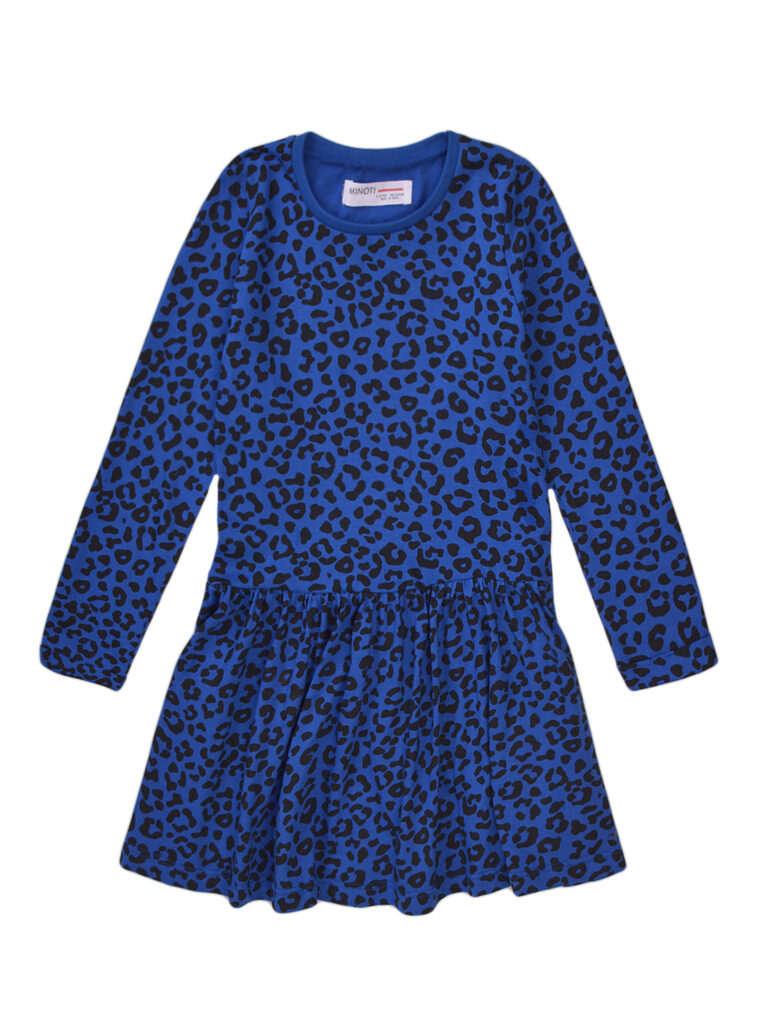 Φόρεμα Βαμβακερό Leopard Blue Minoti