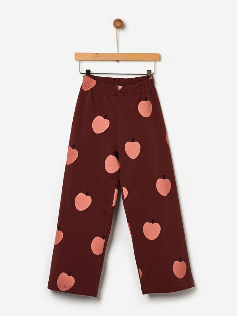 Παντελόνι Φόρμα Allover Apples Yell-oh